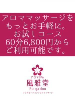 お試しショートコース【お試しショートコース】 | アロマSPA風雅堂()