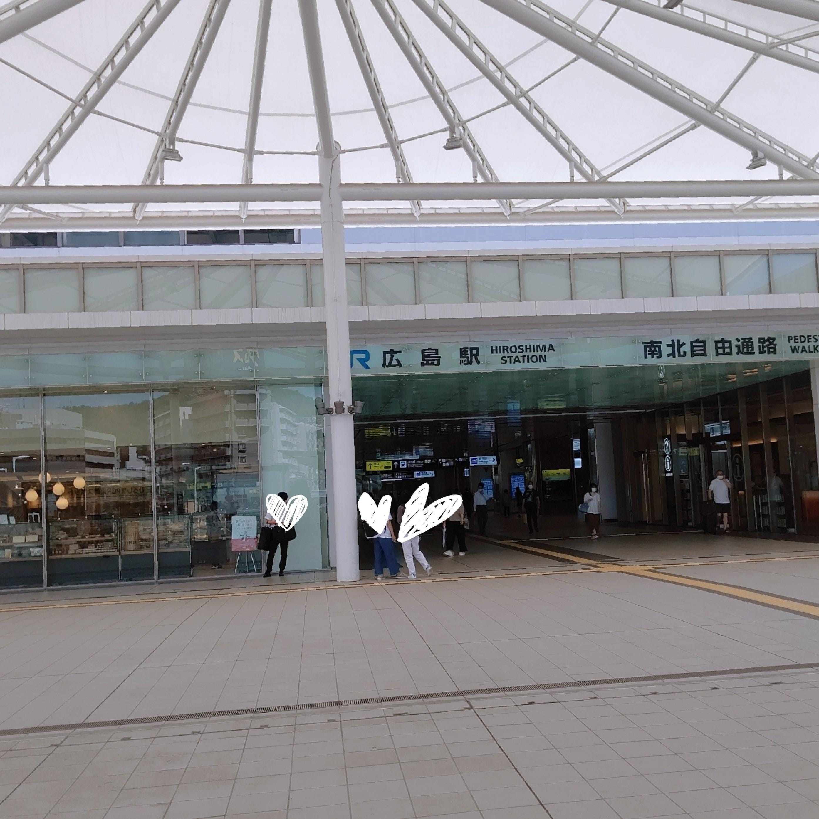 「広島駅」10/20(水) 12:31   橘ののの写メ日記
